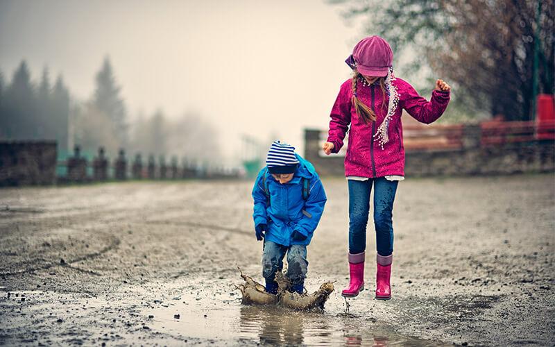 deportes de invierno para niños