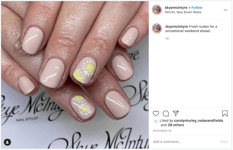 uñas de verano